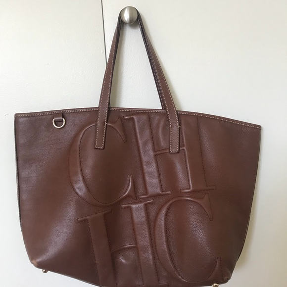 d83fe8ea6 Carolina Herrera Bags | Leather Tote | Poshmark